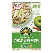 Nature's Path Spiced Apple Plus Flax Instant Oatmeal