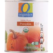 O Organics Pumpkin, 100% Pure, Solid Pack