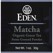 Eden Foods Green Tea, Organic, Matcha, Stone Ground Powder