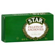 Star Anchovies, Fillets In Olive Oil