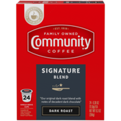 Community Coffee Signature Blend Coffee Pods for Keurig K-cups