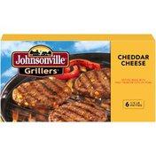 Johnsonville Cheddar Brat Patties 6ct (102032) Grillers