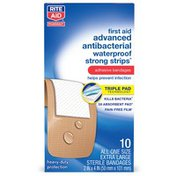 Rite Aid Large Water Resistant Adhesive Band Aids