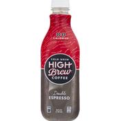 High Brew High Brew Double Espresso, Dark Roast, Cold Brew Coffee