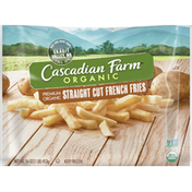 Cascadian Farm Organic Straight Cut Frozen French Fries, Non-GMO