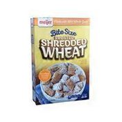 Meijer Frosted Shredded Wheat Lightly Sweetened Whole Grain Wheat Cereal