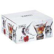 Libbey Cocktail Glasses, Cosmopolitan, 8 oz