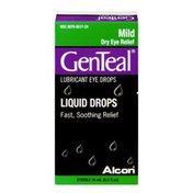 GenTeal Liquid Drops Lubricant Eye Drops Mild