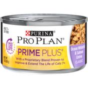 Purina Pro Plan Grain Free Senior Pate Wet Cat Food, PRIME PLUS Ocean Whitefish & Salmon Entree