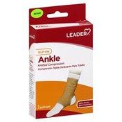 Leader Ankle Support, Slip-On, Medium