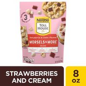 Toll House Strawberries and Cream Flavored Morsels & More with Premier White Morsels