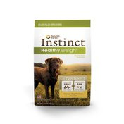 Nature's Variety Instinct Healthy Weight Grain-Free Nutrition With Added Raw Boost Chicken Meal Formula Dog Food