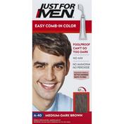 Just For Men Easy Comb-In Color, Medium-Dark Brown A-40