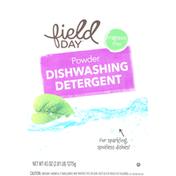 Field Day Dishwashing Detergent, Powder