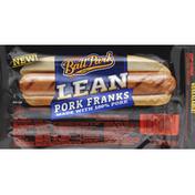 Ball Park Franks, Pork, Lean, Bun Size