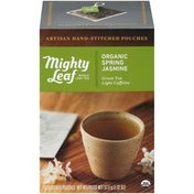 Mighty Leaf Organic Spring Jasmine Whole Leaf Tea Bags
