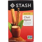 Stash Tea Black Tea, Chai Spice, Tea Bags