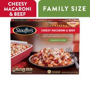 Stouffer's Stouffers Family Size Macaroni and Beef Frozen Meal