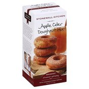 Stonewall Kitchen Doughnut Mix, Apple Cider, With Cinnamon Sugar Topping