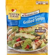 Foster Farms Chicken Breast, Grilled Strips
