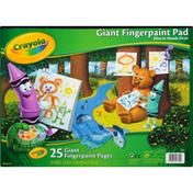 Crayola Fingerpaint Pad, Giant