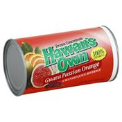 Hawaiis Own Frozen Concentrate, Guava Passion Orange