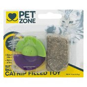 Pet Zone Butterfly Ball Catnip Filled Toy