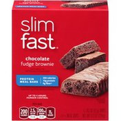 Slimfast Chocolate Fudge Brownie Protein Meal Bar