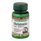 Nature's Bounty Dietary Tablets and Sleep Aid Melatonin
