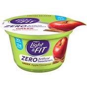 Dannon Greek Blended Apple Cinnamon Nonfat Yogurt