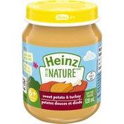 Heinz By Nature Sweet Potato & Turkey Baby Purée