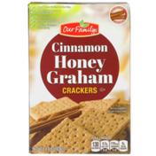 Our Family Cinnamon Honey Graham Crackers