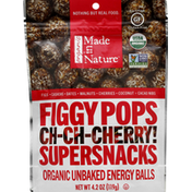 Made In Nature Figgy Pops, Organic, Ch-Ch-Cherry, Supersnacks