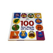 """Disney """"100 First Words"""" Lift-The-Flap Book"""