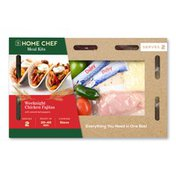 Home Chef Weeknight Chicken Fajitas With Seared Bell Peppers