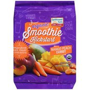 Earthbound Farms Mango Peach Carrot Smoothie Kickstart