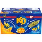 Kraft Dinner Macaroni & Cheese Snack Cups Variety Pack