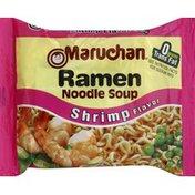 Maruchan Soup, Ramen Noodle, Shrimp Flavor