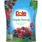 Dole Triple Berry Frozen Fruit