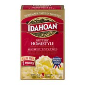 Idahoan Buttery Homestyle Mashed  Potatoes 5 Pack