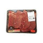 Double R Ranch USDA Choice Thin Beef Boneless Bottom Round Steak