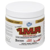 Bpi Pre-Workout Powder, Ultra Concentrated, Fruit Punch
