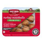 Shady Brook Farms Fully Cooked Italian Style Turkey Meatballs