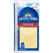 Crystal Farms Smoked Provolone Cheese Slices