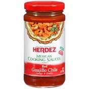 Herdez Red Guajillo Chilie Mexican Cooking Sauce