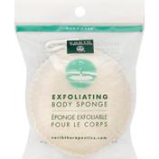 Earth Therapeutics Body Sponge, Exfoliating