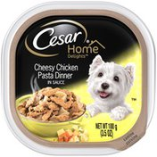 Cesar Home Delights Cheesy Chicken Pasta Dinner in Sauce Dog Food