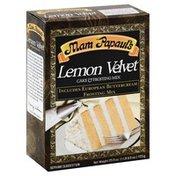 Mam Papauls Mix, Cake & Frosting, Lemon  Velvet, Box