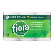 Fiora Soft & Strong Bath Tissue, Mega Roll