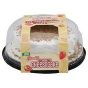 Friendly's Ice Cream Cake, Premium, Strawberry Cheesecake